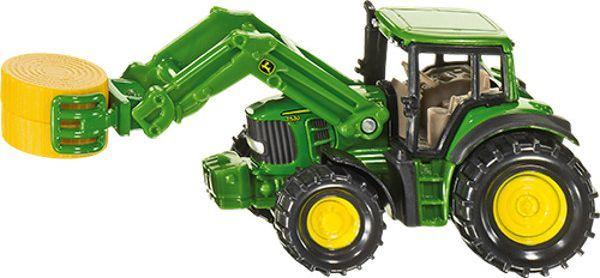 Siku Traktor z chwytakiem do bel - 1379 1