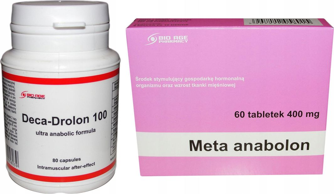 Deka + Meta Anabolon dobry zestaw 1