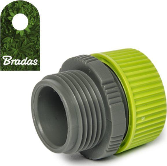"""Bradas Przyłącze na wąż 1/2"""" z przejściem na GZ 3/4"""" adapter LIME LINE Bradas 0873 1"""