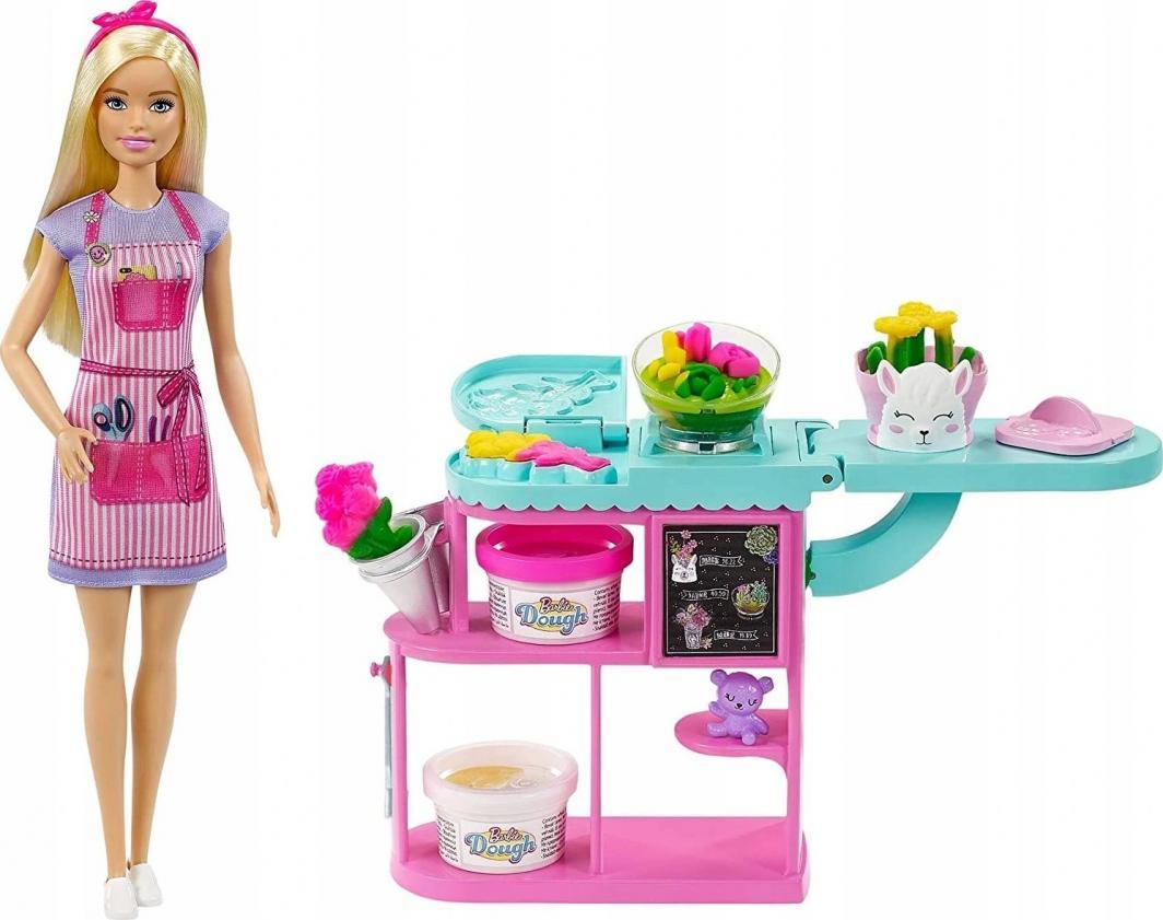 Mattel Barbie Kwiaciarnia + lalka (GTN58) 1