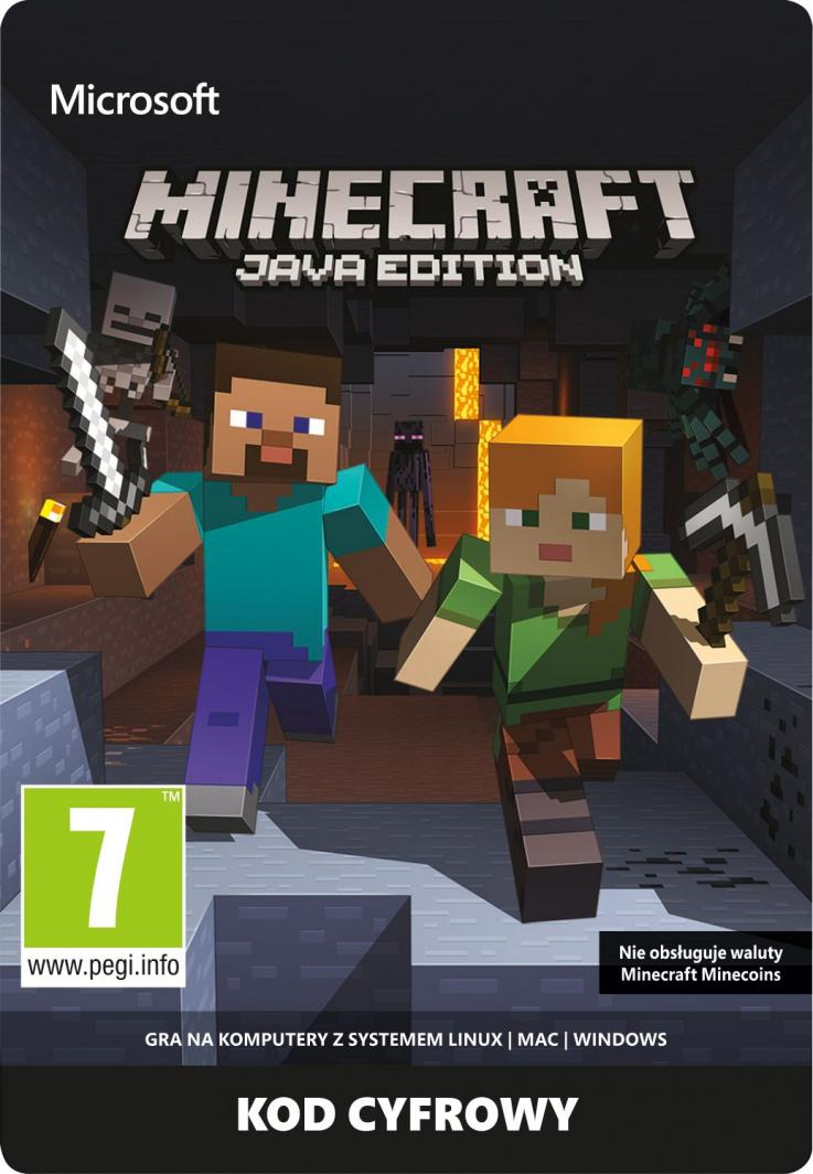Minecraft Java Edition PC, wersja cyfrowa  1