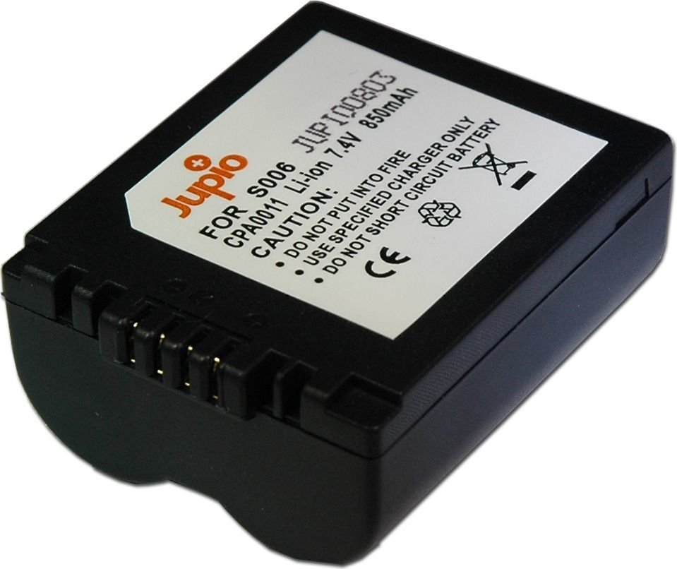 Akumulator Jupio Panasonic CGA-S006E/DMW-BMA7 7.2V 850mAh (CPA0011) 1
