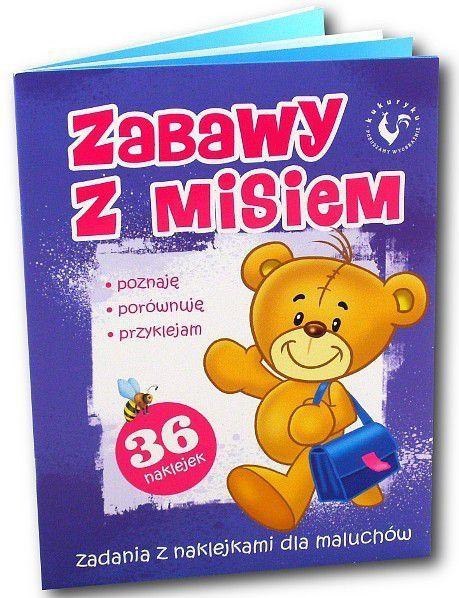 PROMATEK Książka Zabawy z Misiem - 0129 1