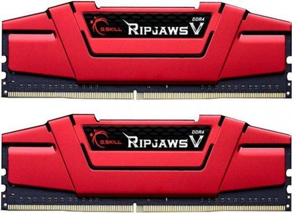 Pamięć G.Skill Ripjaws V, DDR4, 16 GB, 3000MHz, CL15 (F4-3000C15D-16GVRB) 1