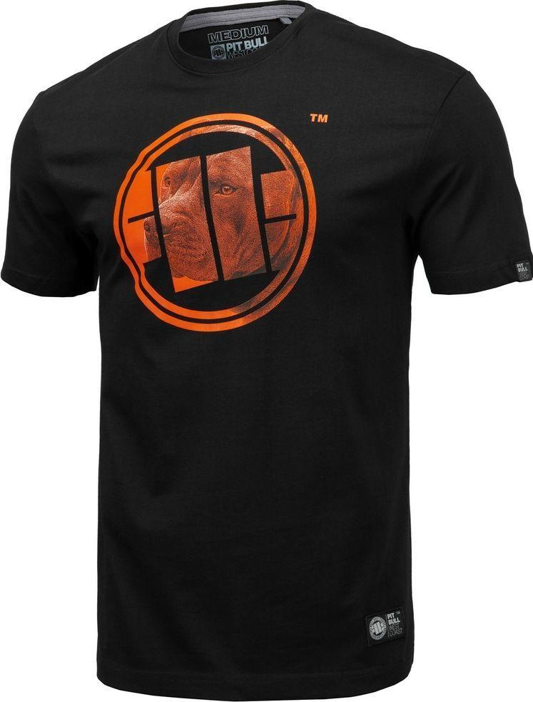 Pit Bull West Coast Koszulka Pit Bull Orange Dog'20 - Czarna M 1