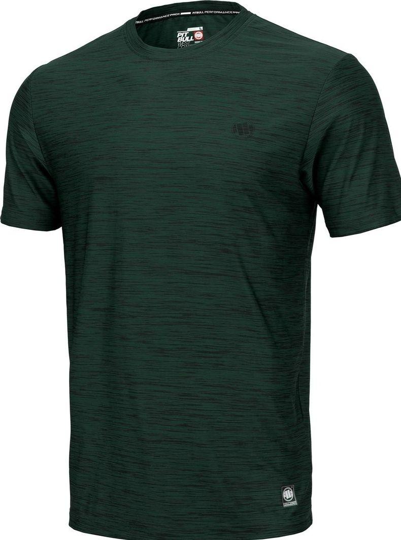 Pit Bull West Coast Koszulka Pit Bull Casual Sport Small Logo'20 - Zielony Melanż M 1