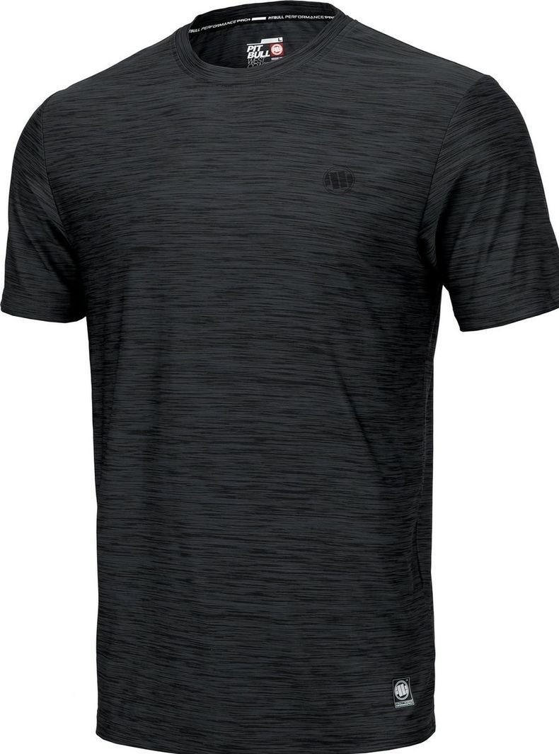 Pit Bull West Coast Koszulka Pit Bull Casual Sport Small Logo'20 - Czarny Melanż M 1