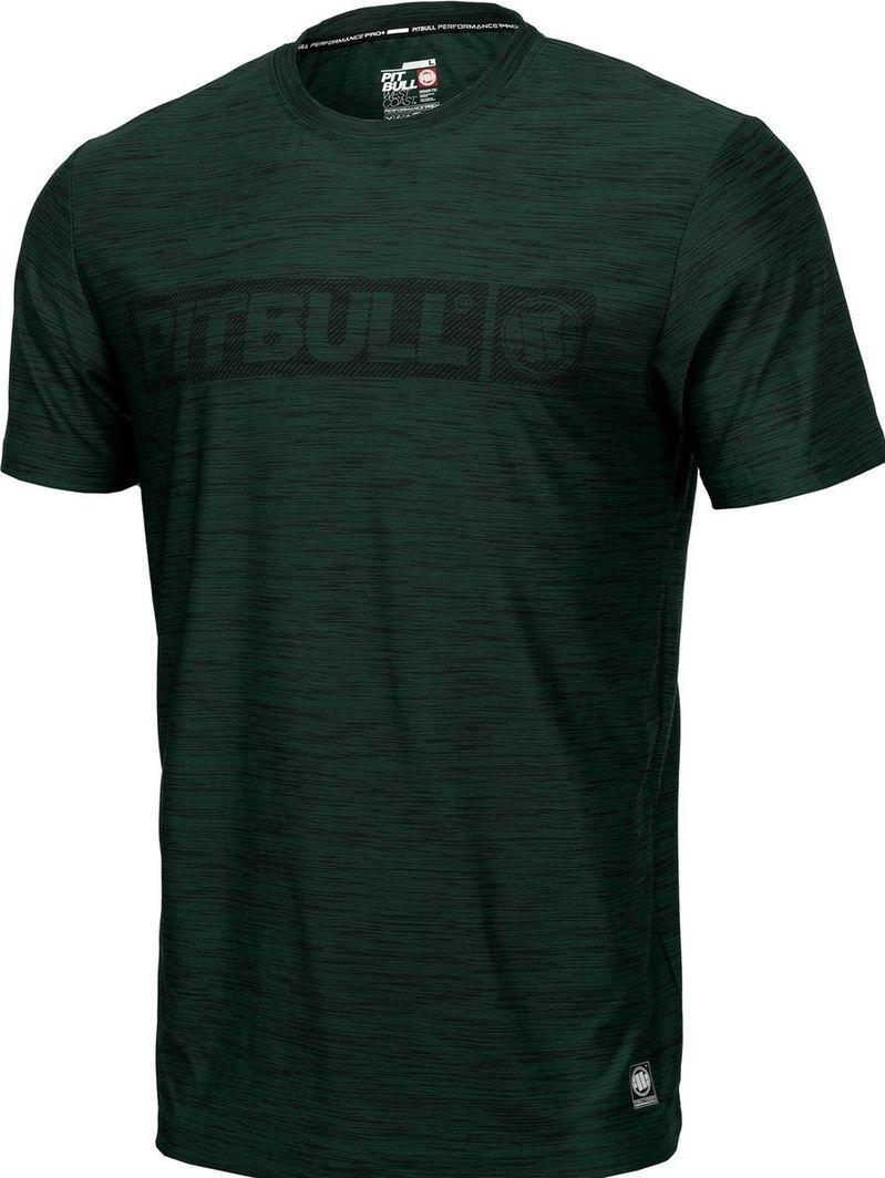 Pit Bull West Coast Koszulka Pit Bull Casual Sport Hilltop'20 - Zielony Melanż M 1