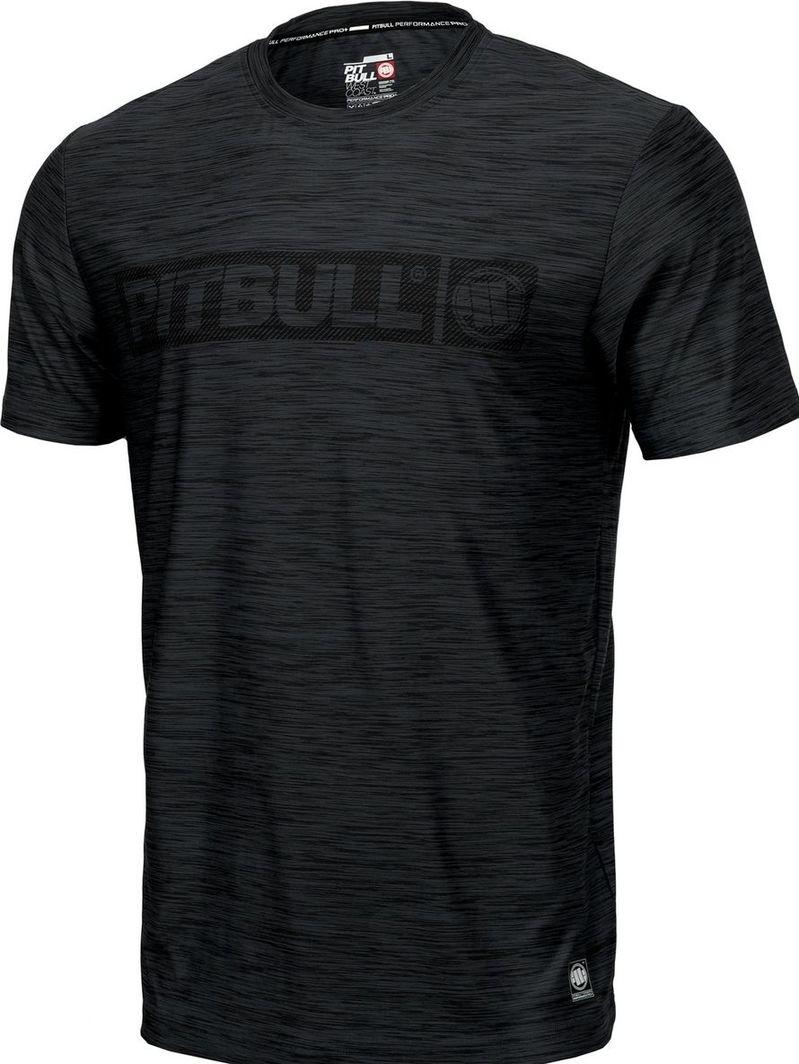 Pit Bull West Coast Koszulka Pit Bull Casual Sport Hilltop'20 - Czarny Melanż M 1