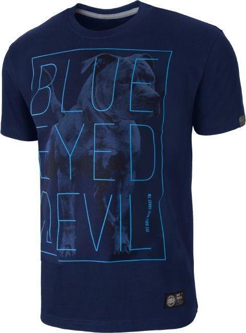 Pit Bull West Coast Koszulka Pit Bull Blue Eyed Devil 2 - Granatowa S 1