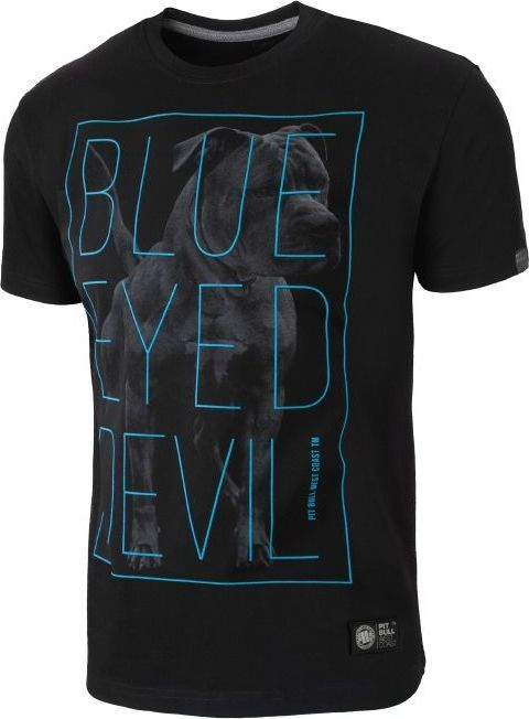 Pit Bull West Coast Koszulka Pit Bull Blue Eyed Devil 2 - Czarna M 1
