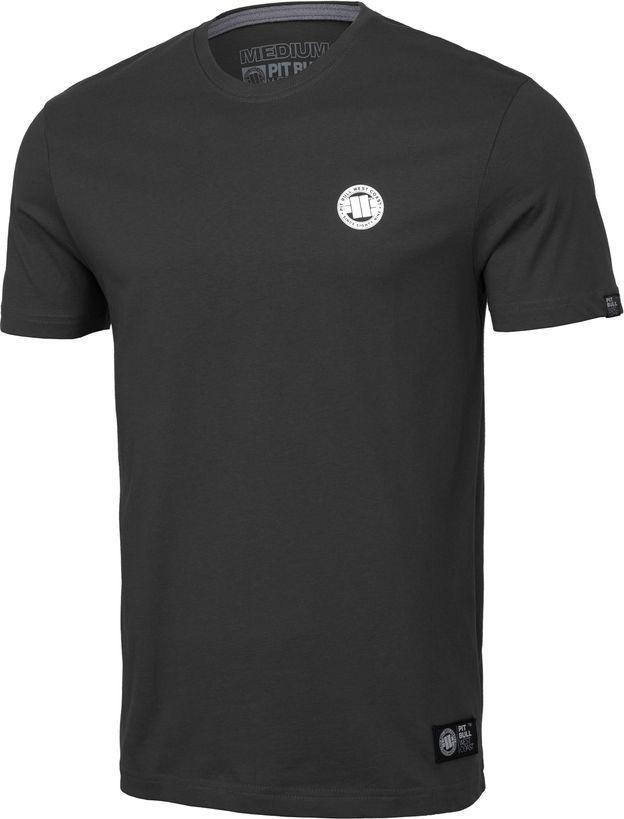 Pit Bull West Coast Koszulka Pit Bull Small Logo '20 - Grafitowa M 1