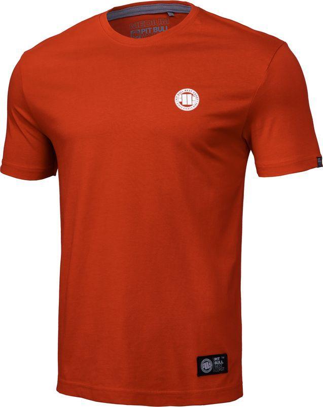 Pit Bull West Coast Koszulka Pit Bull Small Logo '20 - Pomarańczowa S 1