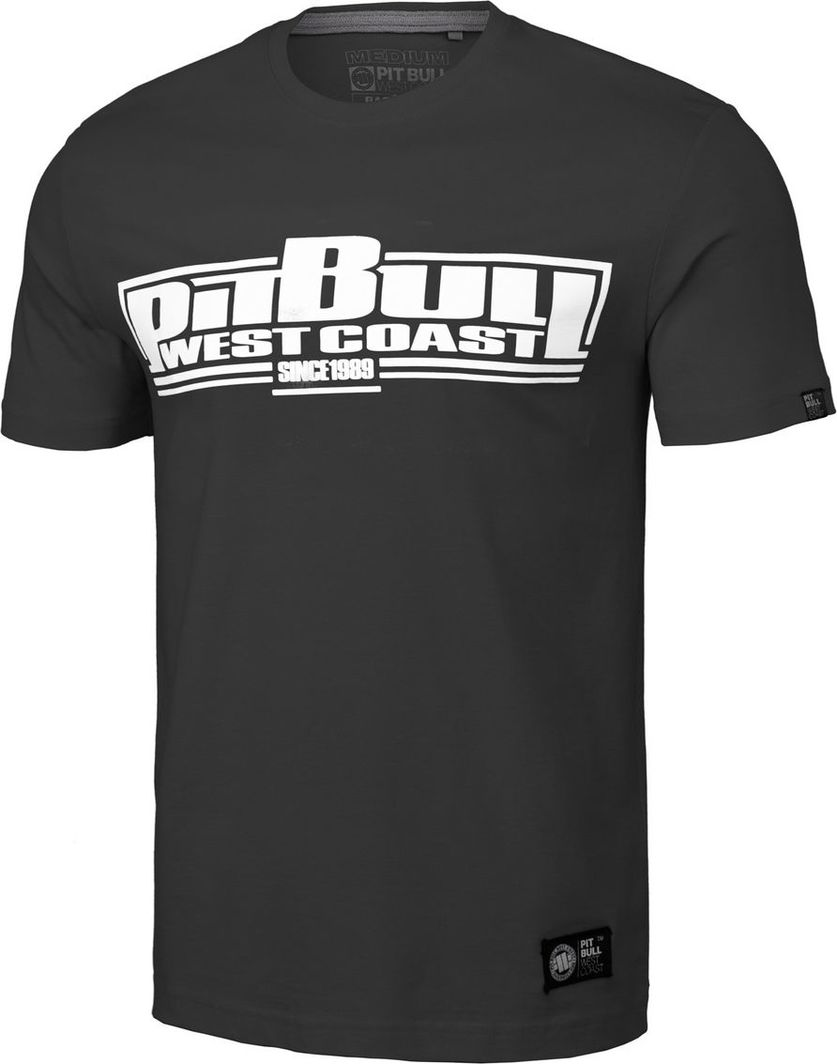Pit Bull West Coast Koszulka Pit Bull Classic Boxing '20 - Grafitowa M 1