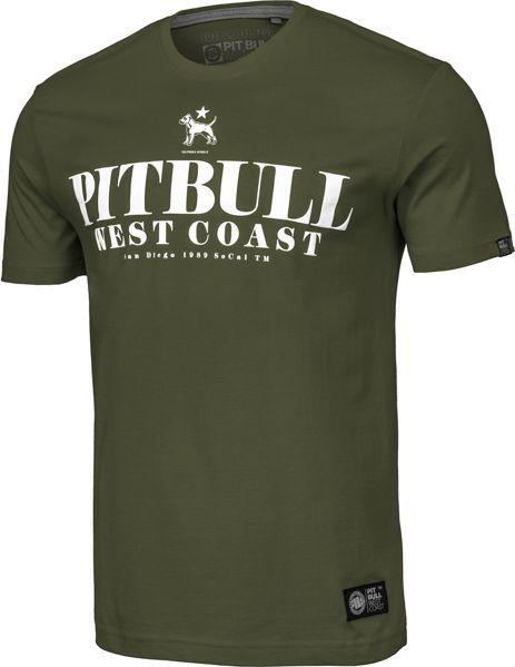 Pit Bull West Coast Koszulka Pit Bull Flamingo'19 - Oliwkowa XXL 1