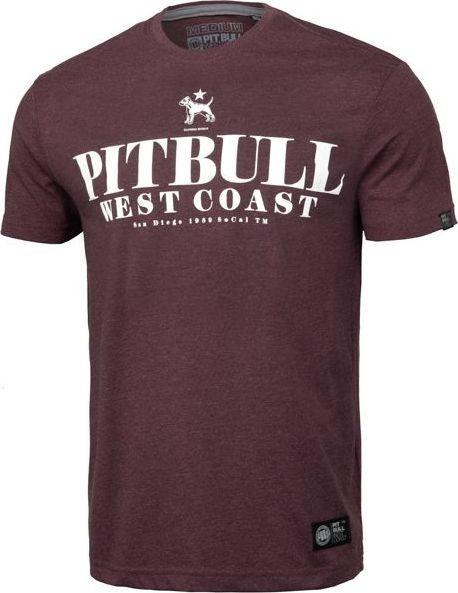 Pit Bull West Coast Koszulka Pit Bull Flamingo'19 - Bordowa XL 1