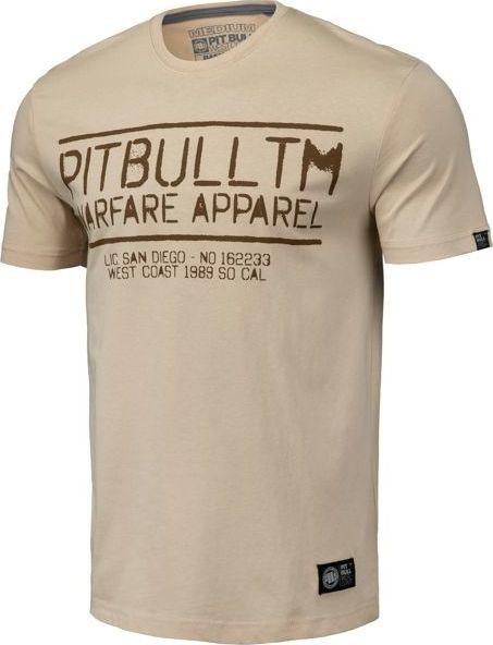 Pit Bull West Coast Koszulka Pit Bull Warfare '20 - Piaskowa L 1