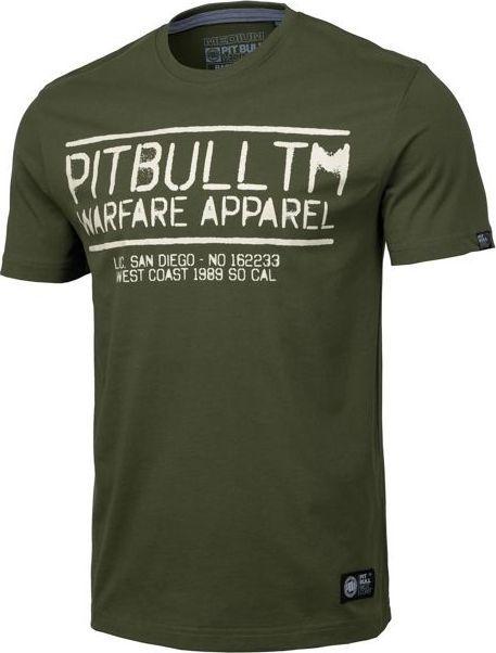Pit Bull West Coast Koszulka Pit Bull Warfare '20 - Oliwkowa S 1