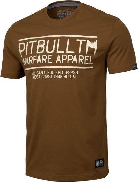 Pit Bull West Coast Koszulka Pit Bull Warfare '20 - Brązowa S 1