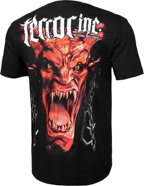 Pit Bull West Coast Koszulka Pit Bull Terror Devil'19 - Czarna XL 1