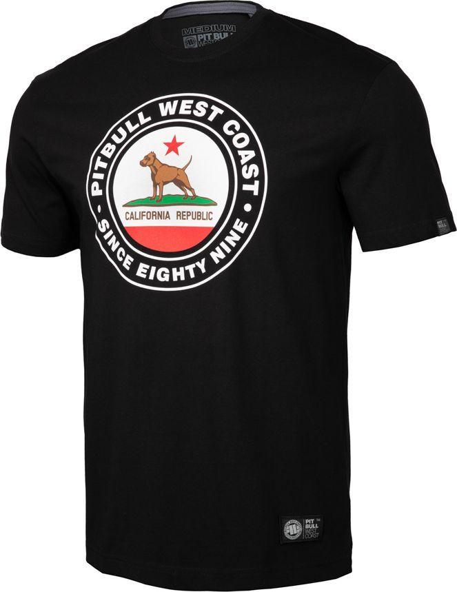 Pit Bull West Coast Koszulka Pit Bull Circal Dog'19 - Czarna M 1