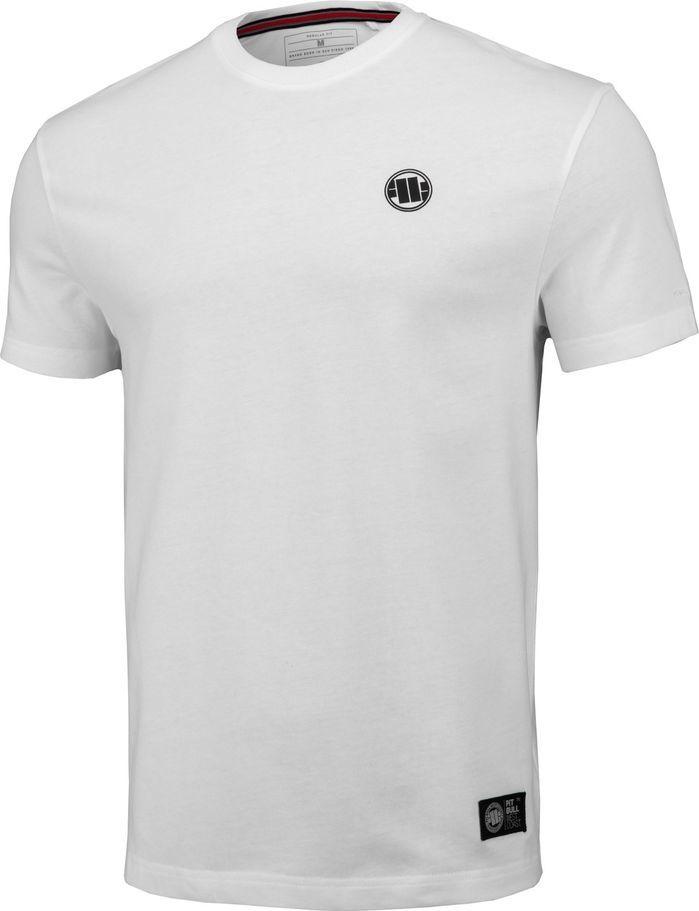 Pit Bull West Coast Koszulka Pit Bull Regular Fit 210 Small Logo '20 - Biała M 1