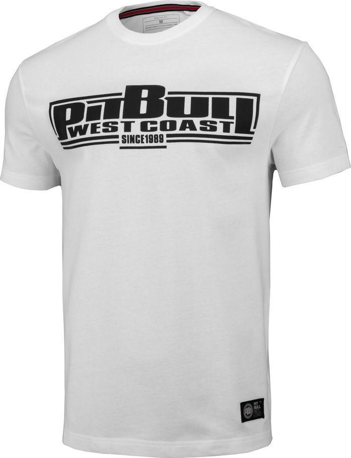 Pit Bull West Coast Koszulka Pit Bull Regular Fit 210 Classic Boxing '20 - Biała L 1