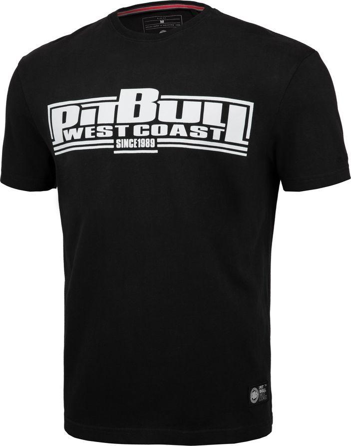 Pit Bull West Coast Koszulka Pit Bull Regular Fit 210 Classic Boxing '20 - Czarna M 1
