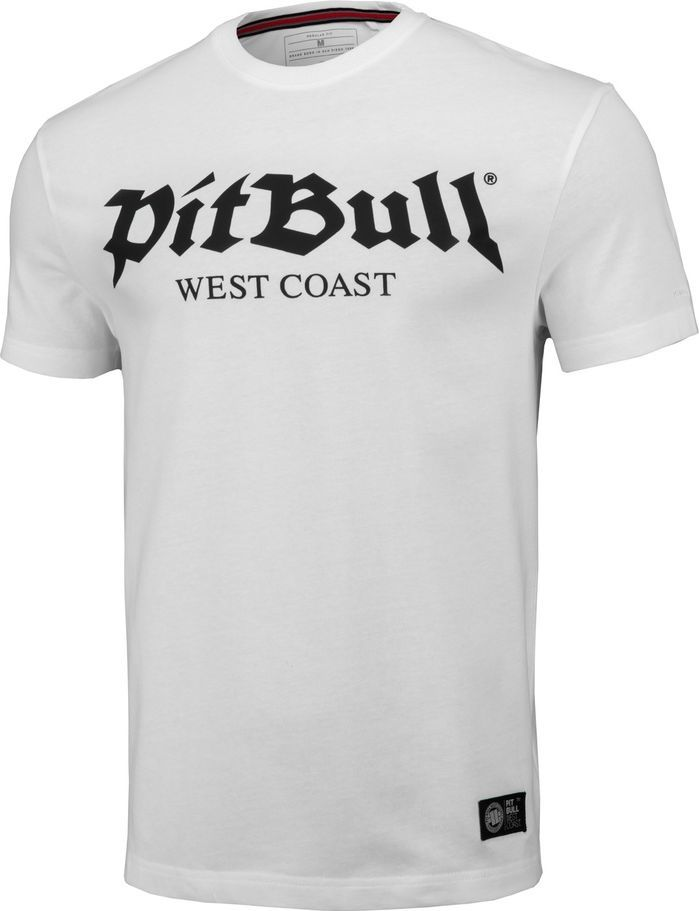 Pit Bull West Coast Koszulka Pit Bull Regular Fit 210 Old Logo '20 - Biała S 1