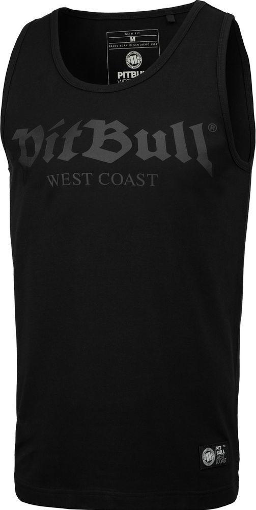 Pit Bull West Coast Tank Top Pit Bull Slim Fit Lycra Old Logo'20 - Czarny XXL 1