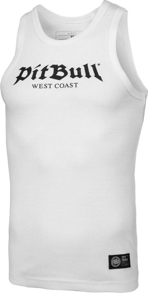 Pit Bull West Coast Tank Top Pit Bull Rib Old Logo'20 - Biały L 1