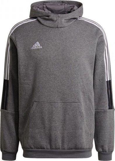 Adidas Bluza adidas TIRO 21 Sweat Hoody GP8805 GP8805 szary XXL 1