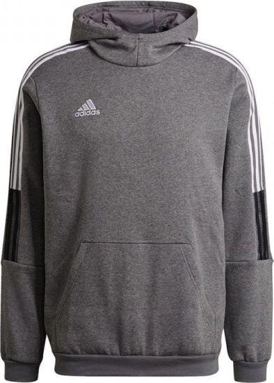 Adidas Bluza adidas TIRO 21 Sweat Hoody GP8805 GP8805 szary XL 1