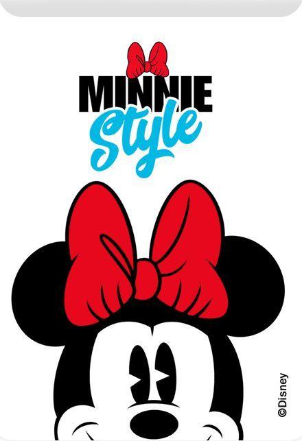 Kieszonka na kartę Minnie 001 Disney biała 1