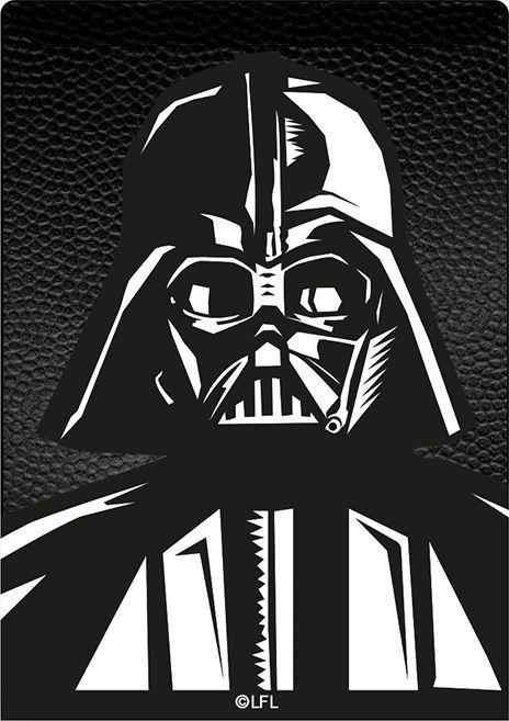 Kieszonka na kartę Darth Vader 001 Star Wars czarna 1