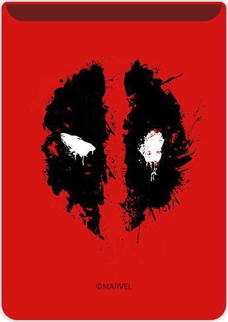 Kieszonka na kartę Deadpool 002 Marvel czerwona 1
