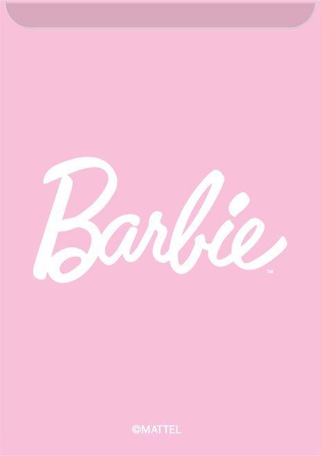 Kieszonka na kartę Barbie 001 różowa 1