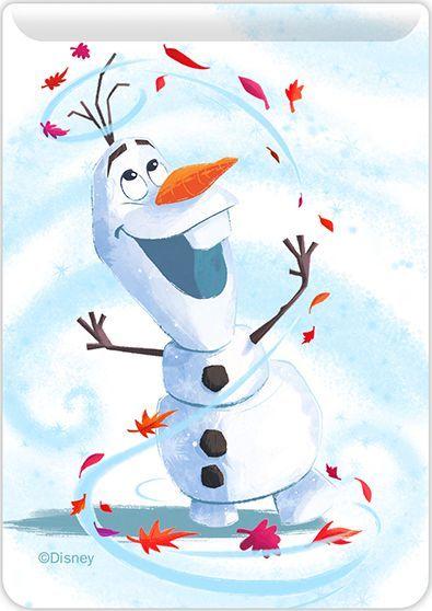 Kieszonka na kartę Olaf 001 Disney biała 1