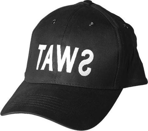 "Mil-Tec czapka Mil-Tec Baseball Cap ""SWAT"" black UNIWERSALNY 1"