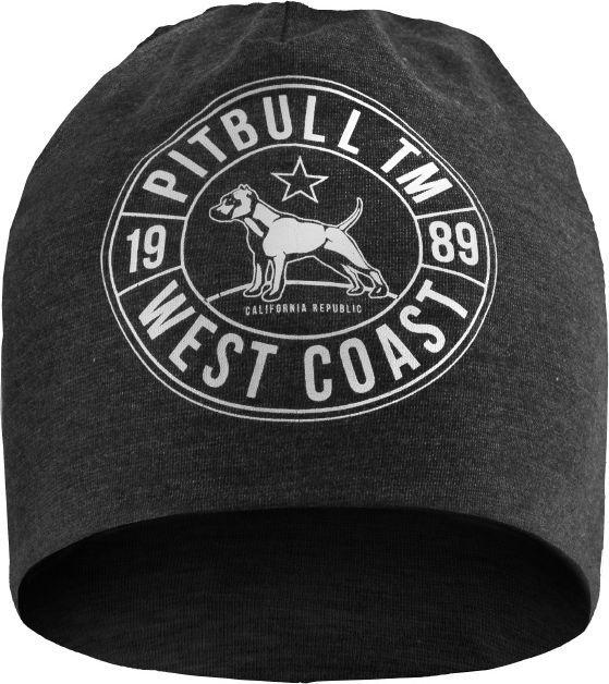 Pit Bull West Coast Czapka Pit Bull Cal Flag - Grafitowa UNIWERSALNY 1