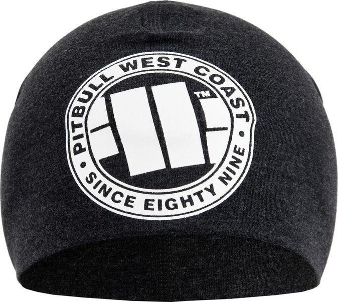 Pit Bull West Coast Czapka kompresyjna Pit Bull Big Logo - Grafitowa UNIWERSALNY 1