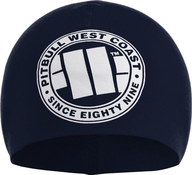Pit Bull West Coast Czapka kompresyjna Pit Bull Big Logo - Granatowa UNIWERSALNY 1