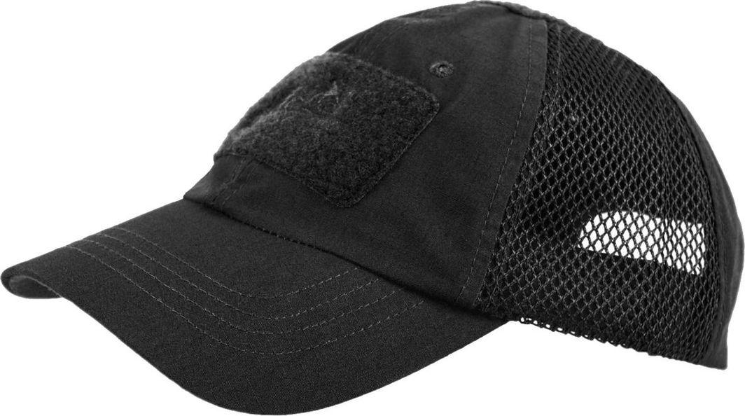 Helikon-Tex czapka Helikon Baseball VENT PolyCotton ripstop czarna UNIWERSALNY 1