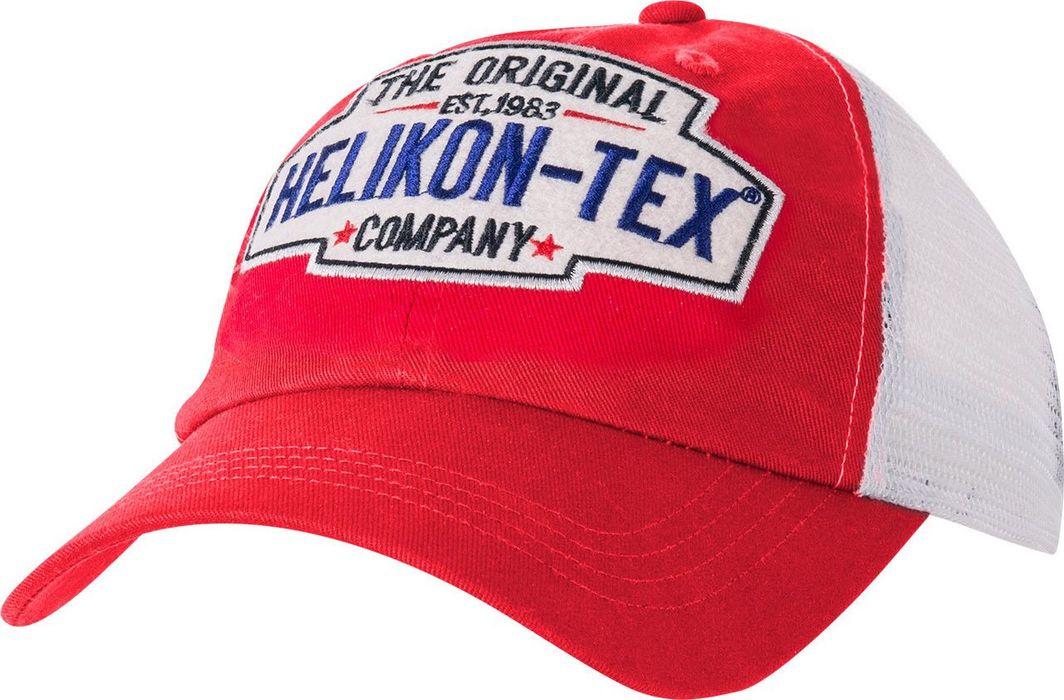 Helikon-Tex Czapka Helikon Trucker Logo Cap Cotton Twill - Czerwona UNIWERSALNY 1