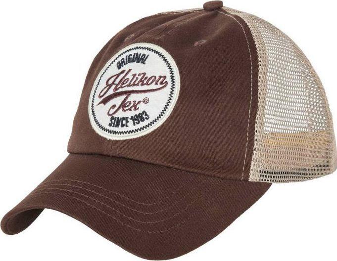 Helikon-Tex Czapka Helikon Trucker Logo Cap Twill Mud Brown UNIWERSALNY 1