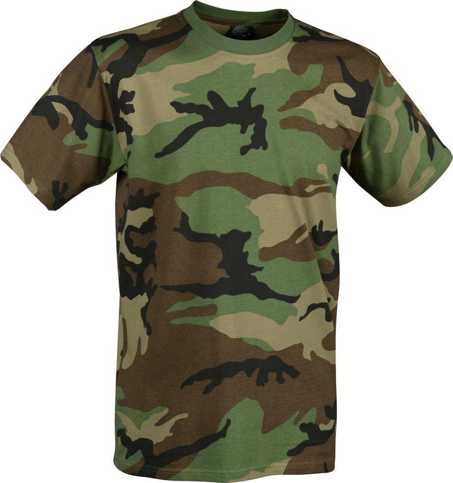 Helikon-Tex t-shirt Helikon cotton US woodland M 1