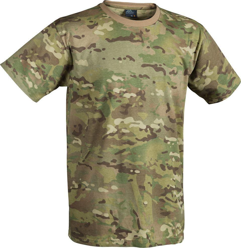 t-shirt cotton Tactical Camo S 1