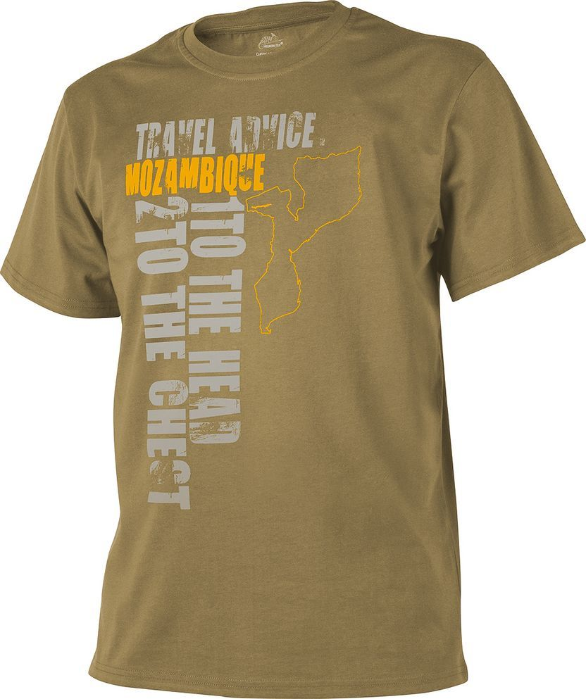 Helikon-Tex t-shirt Helikon Travel Advice Mozambique coyote XXL 1