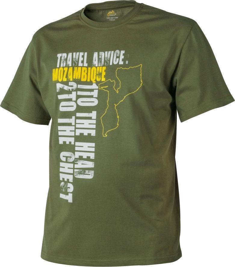Helikon-Tex t-shirt Helikon Travel Advice Mozambique us green M 1