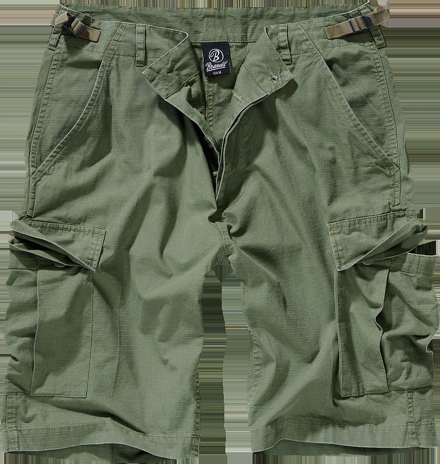 Brandit Spodnie Short BRANDIT BDU Ripstop Olive XXL 1